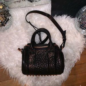 Alexander Wang Rockie bag with Rose Good HW
